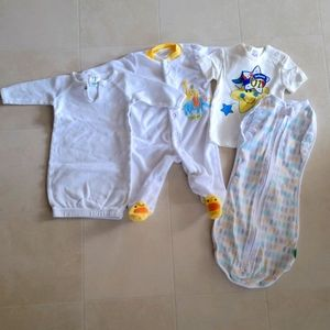4/$20 Lot of Baby Clothes 0-3 Months